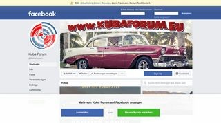 Facebook Kubaforum