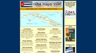 Straßen-Karten der einzelnen Provinzen