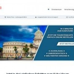 Touristenkarte Kuba